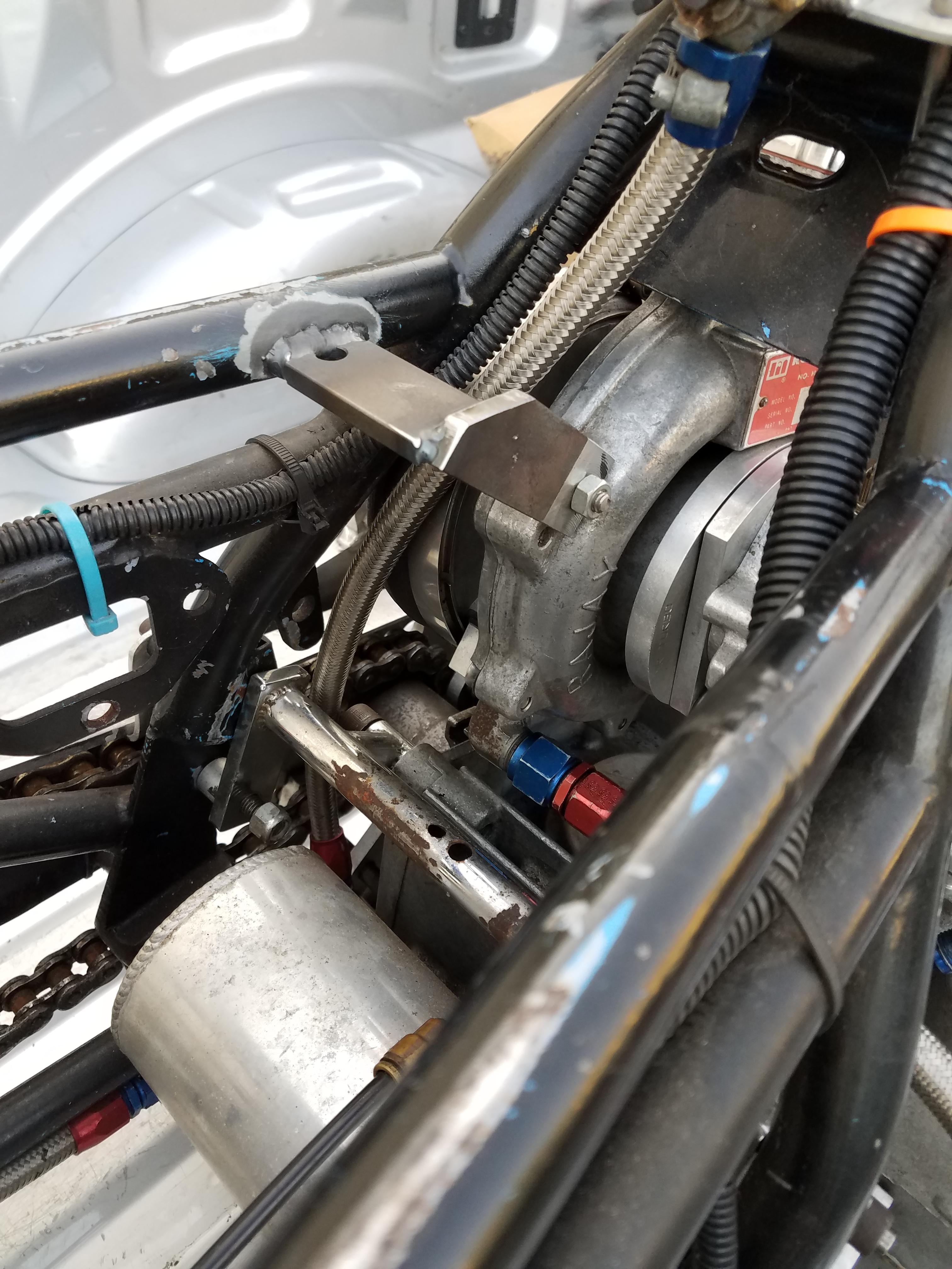 Support bracket for Drag bike Turbo Chopper Guys CPI