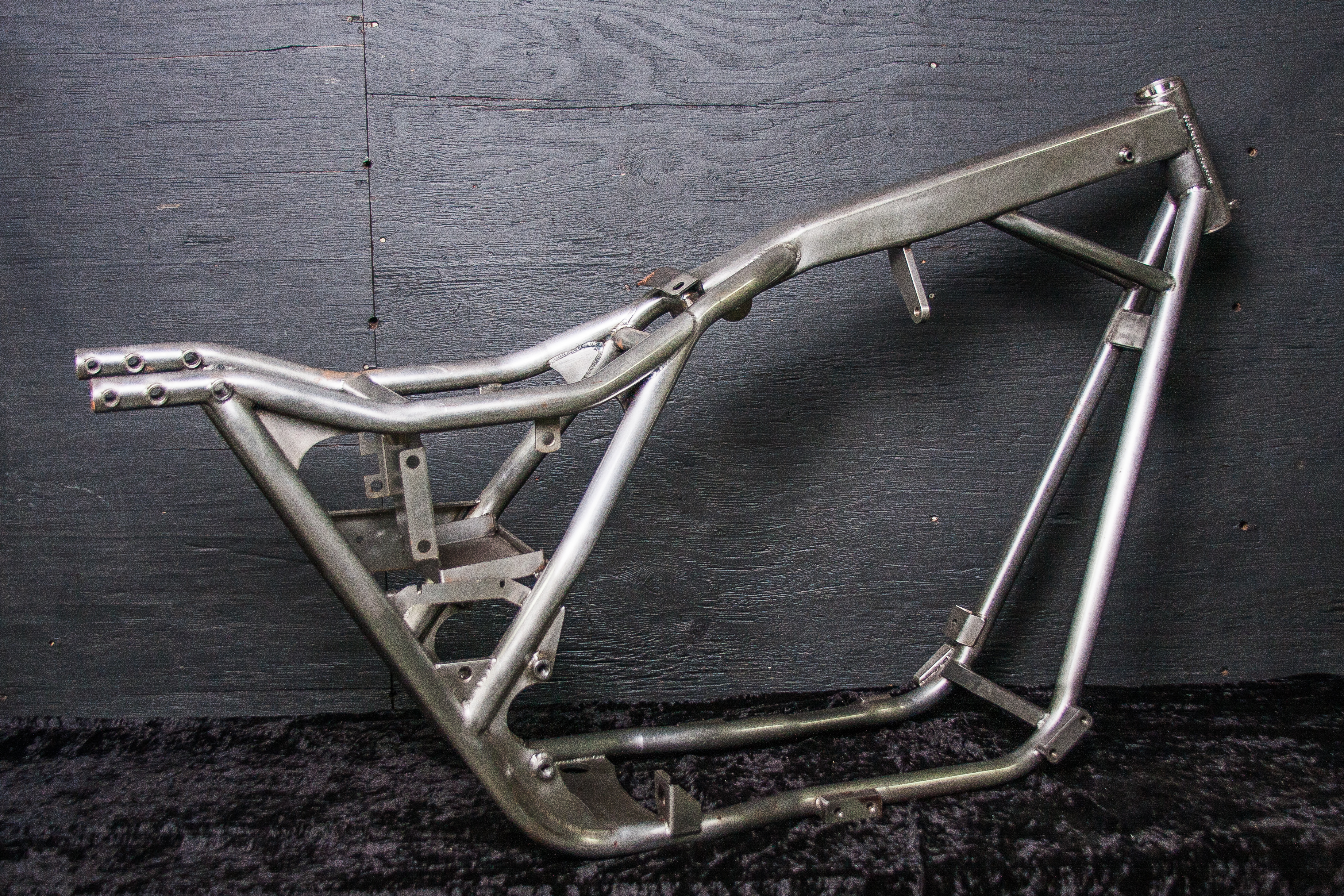 wide fxr motorcycle frame with swingarm - Motorcycle Frame