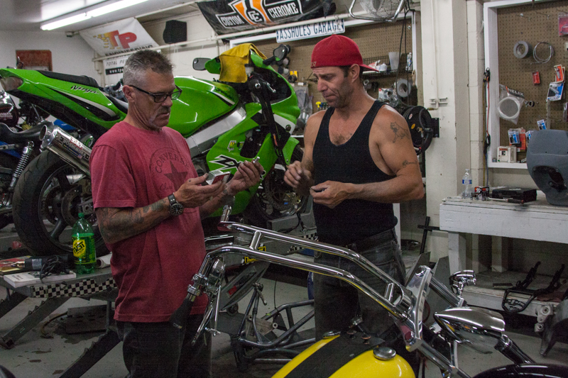 Chopper Guys California Performance Iron Motorcycle Service