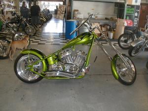 CG /FGRS25 Rigid GREEN CHOPPER